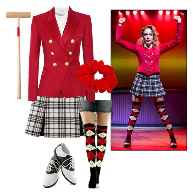 """Heather chandler (heathers the musical)"" by cookie-4602359 ❤ liked on Polyvore"