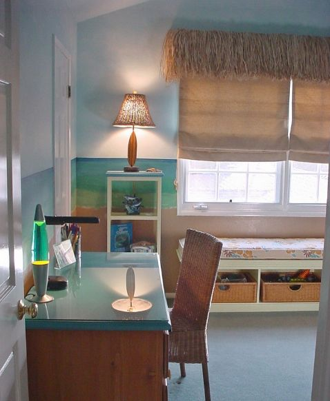 Tropical Bedrooms: Fun at the Beach!