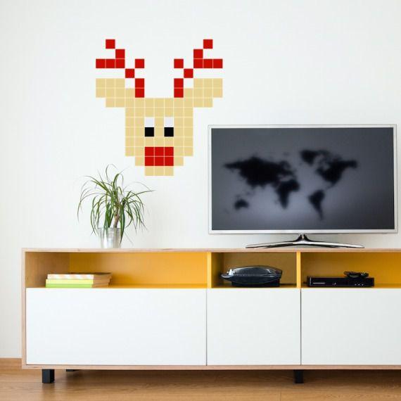 Mały Rudolf - Puzzle do naklejania