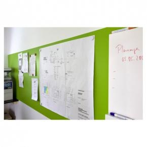 Product NBD - Systexx Whiteboard Finish, gewone wanden worden presentatiewanden