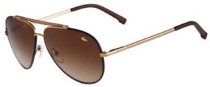 Lacoste Men's Aviator Sunglasses - L171SL (Rose Gold)
