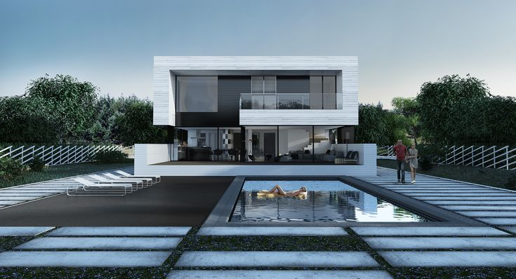 single-family dwelling house of 250 m2