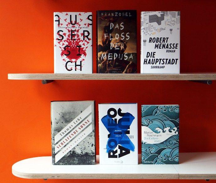 Sechs Titel im Finale. Copyright: Petra Gass / Börsenverein des Deutschen Buchhandels