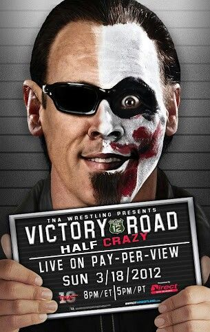 Sting on the poster of a TNA ppv advertisement.