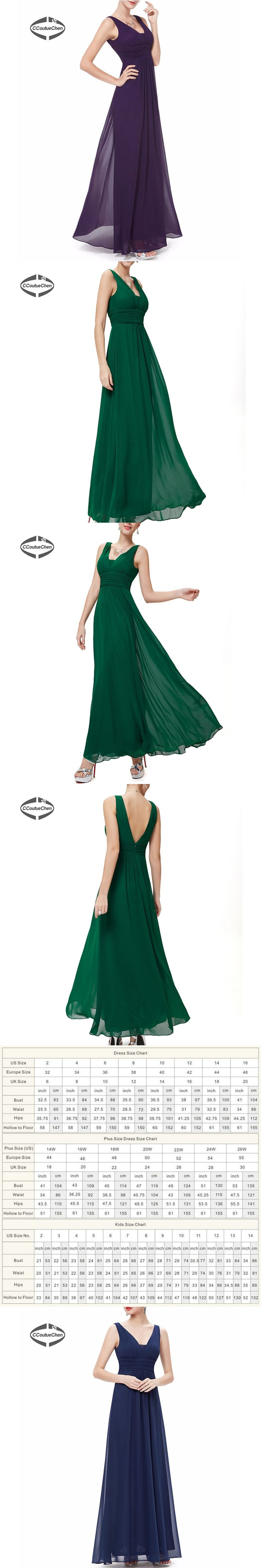 V Neck Sleeveless Ankle Length Bridesmaid Dresses Long with Bra Party Dresses Zipper Back Gown For Big Event Silk Chiffon SARA-4