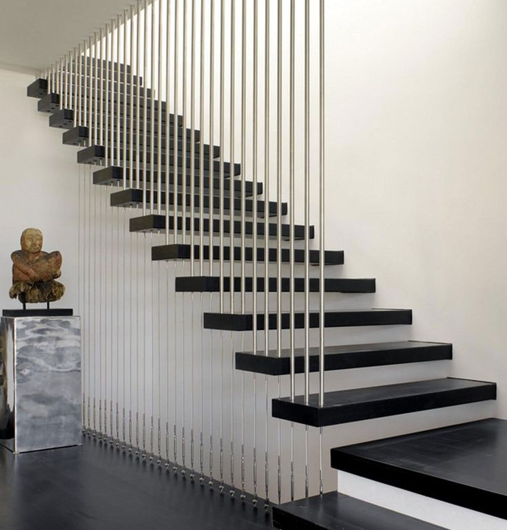 12 Best Various Materials For Modern Stair Railings Images