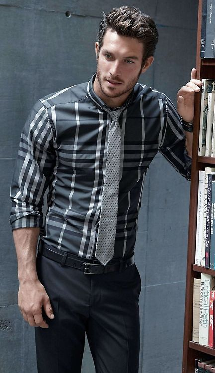 Nice Use Of A Plaid Shirt That Is Still Work Appropriate
