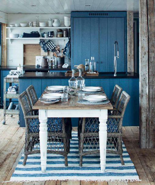 Southwood kjøkkenbord og Sardinia spisestuestol.  www.homeandcottage.no