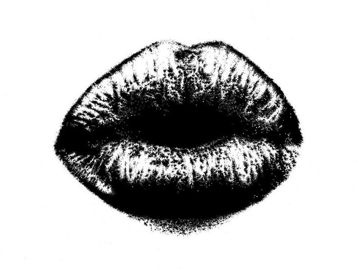 """""""Amour"""" 07/2014 - dim. 33x48 cm Inchiostro di china su carta ruvida Fabriano #art #kiss #love #lips"""