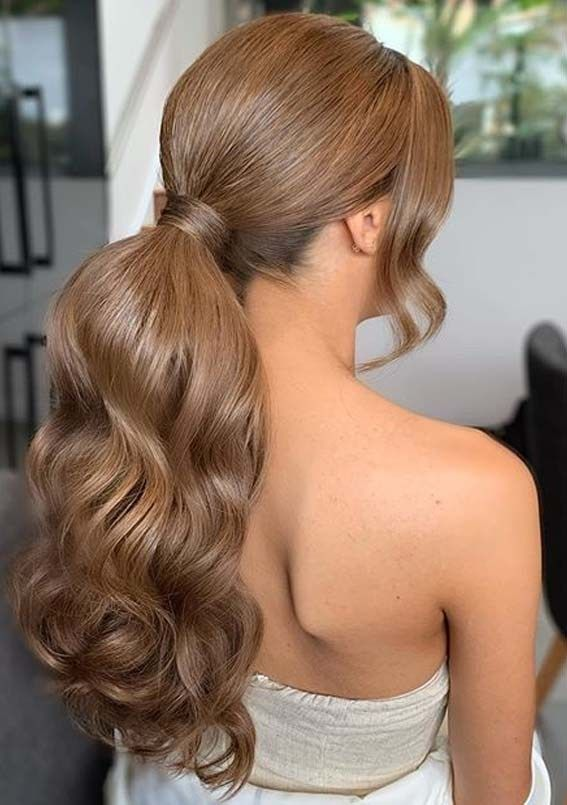 Graceful Ponytail Hairstyles To Show Off For Bold Look In 2020 Long Ponytail Hairstyles Ponytail Hairstyles Long Hair Styles