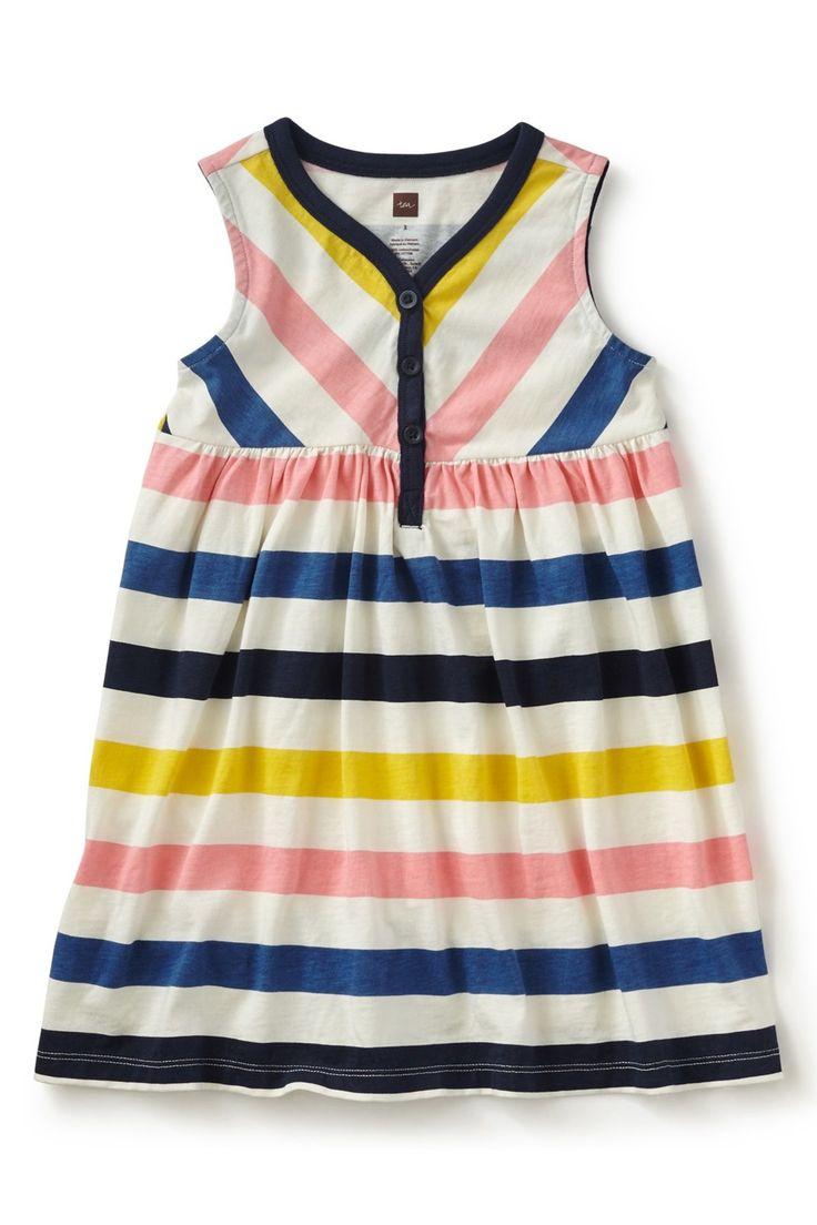 Stripe Dress (Toddler, Little Girls, & Big Girls)