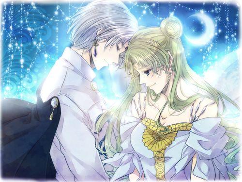 Princess Serenity and Prince Diamond If   壱 [pixiv]