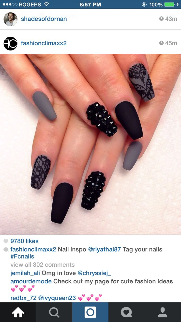 20 best nails images on Pinterest | Nail design, Nail ideas and Cute ...