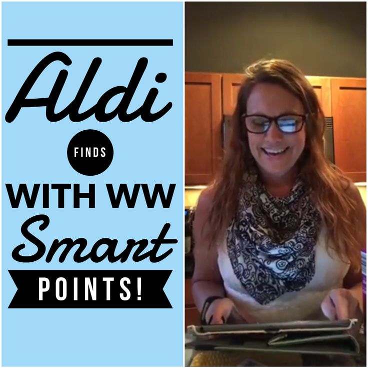 Weight Watchers Live Facebook Chat: Aldi Finds! Please join us each Sunday night at 8pm eastern for a live chat about your favorite Weight Watchers finds, foods and fun. &nb…