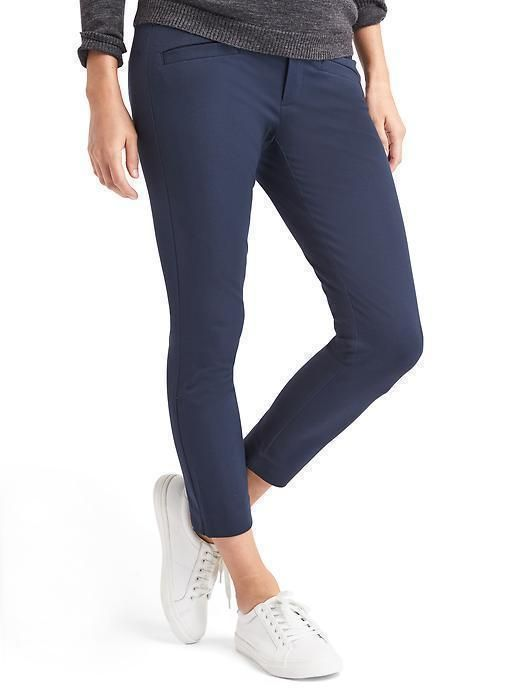 34c31acaf19d4 NWT GAP 2018 MATERNITY BI STRETCH SKINNY ANKLE FULL NAVY BLUE PANTS 4 reg  #fashion #clothing #shoes #accessories #womensclothing #maternity (ebay  link)