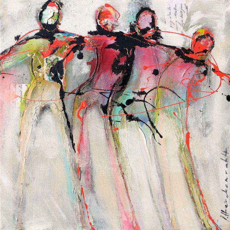 Ingeborg Herckenrath - Connected People 16 2 #art #kunst