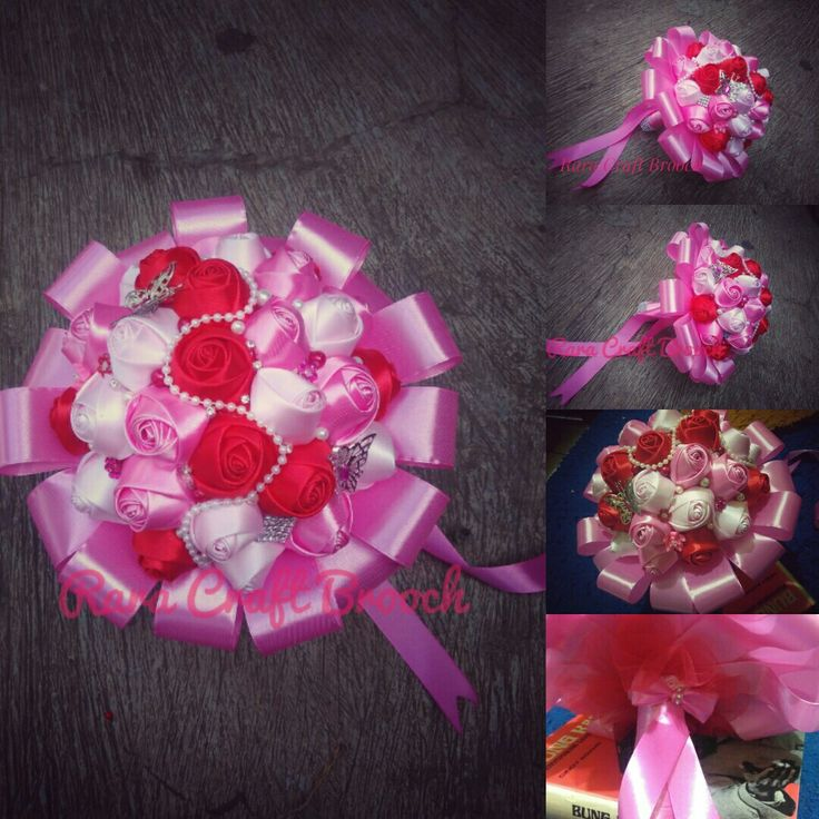 Handboquet wedding  by rara craft Bandung