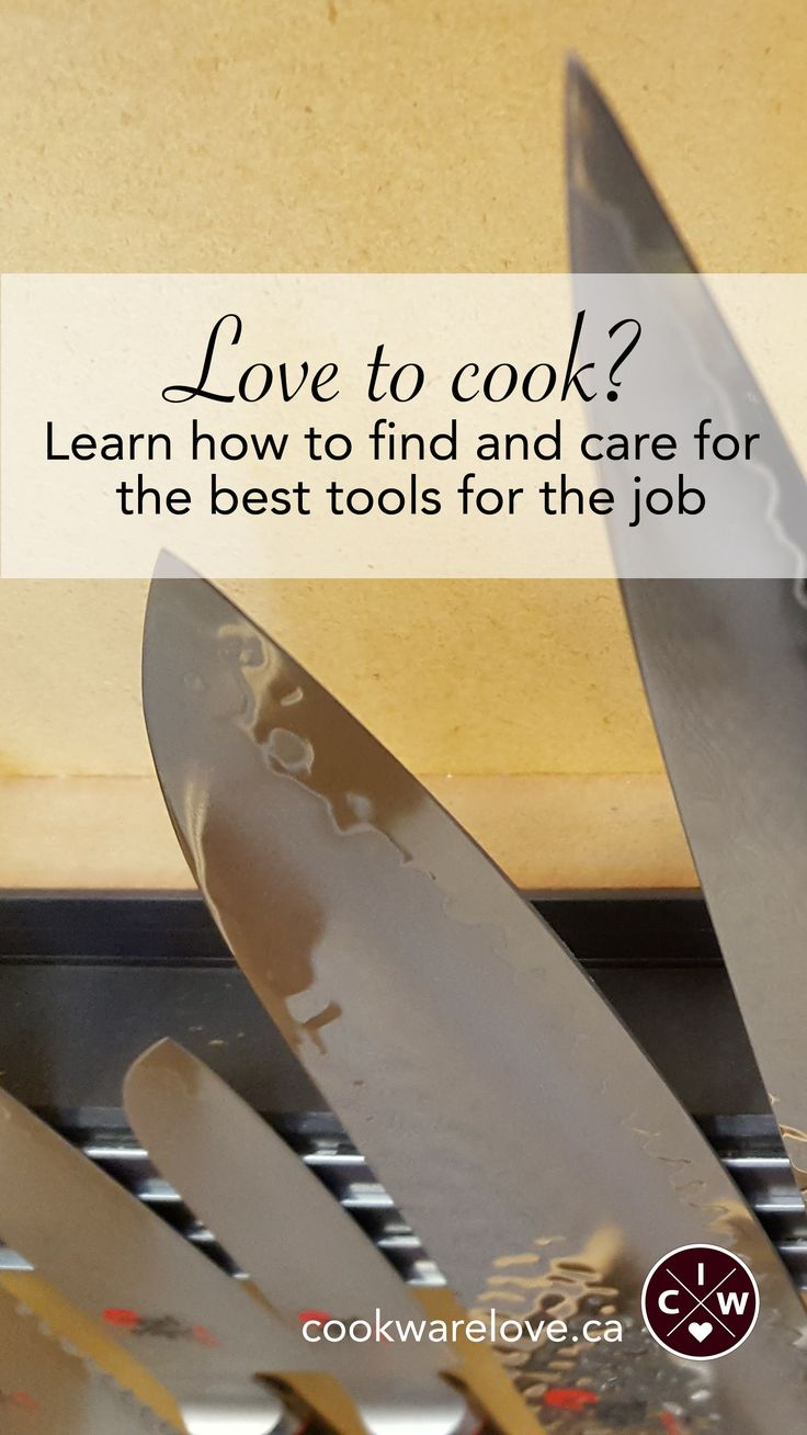 Do you love to cook but need help picking the right tools for the job?  Do you go through non-stick frying pans faster than French chefs goes through butter?  Then visit the blog for tips and tricks on how to pick the right tools of the trade and keep them in tip-top condition!