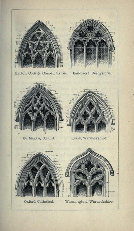 The Principles Of Gothic Ecclesiastical Archite Architecture DrawingsClassical