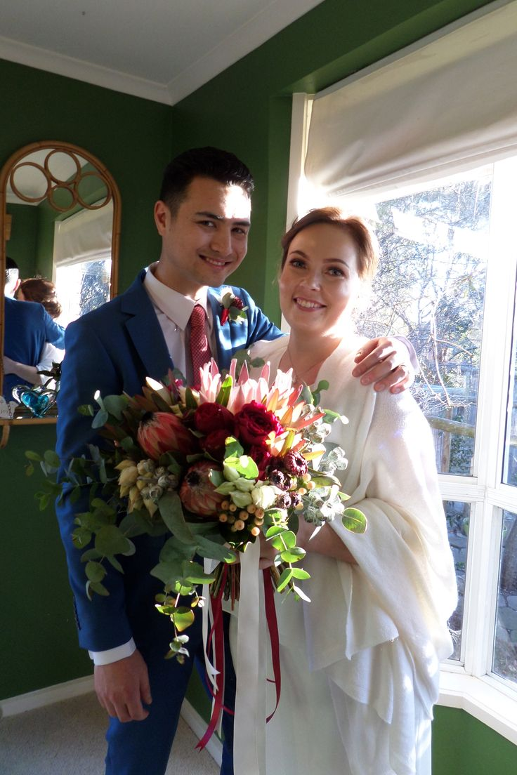 Friday 11 August 2017 Luisa and Alex married in the green room then went into the Heart Garden for more photos.