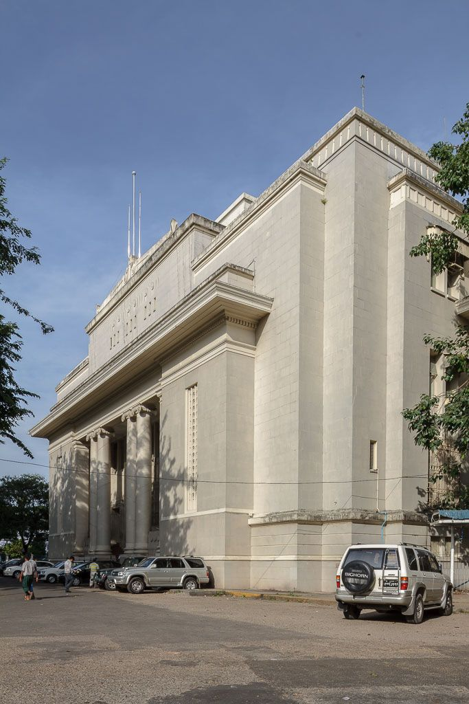 We have conflicting information regarding the building dates of the Myawaddy Bank, formerly known as the Reserve Bank of India. Built in neoclassical art deco style, its construction began and...