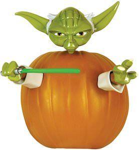 Yoda Pumpkin Decoration