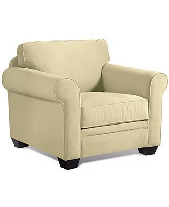 """Remo Fabric Living Room Chair: Custom Colors, 41""""W x 38""""D x 31""""H - Chairs - Furniture - Macy's"""