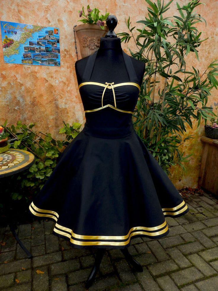 50er Petticoat Rockabilly Abiball Abend Pin Up Kleid Party Tanz Cocktail Dress in Одежда, обувь и аксессуары, Одежда для женщин, Платья | eBay