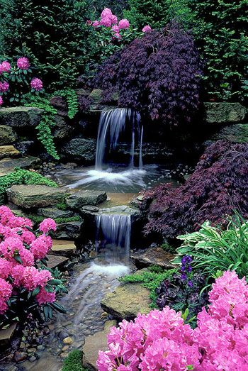 30 best images about waterfall on pinterest backyard for Waterfall set design