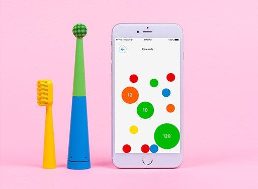 Do you have trouble getting your kids to brush their teeth? Or do you not brush your teeth long enough? The Benjamin Brush might fix that little problem, as it's the first electric toothbrush…