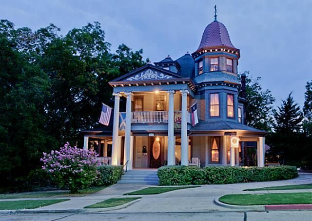 Mckinney Texas Victorian - I have wanted to go inside this house my whole life.