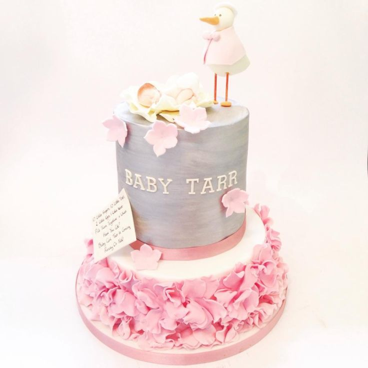 Baby Shower Cake - Cake by Claire Neal