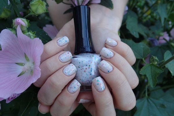 The Face Shop Lovely Me:ex Yogurt nails 02 Vanilla sugar yogurt — Отзывы о косметике — Косметиста