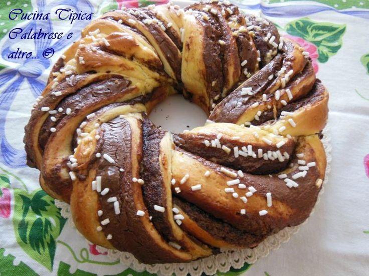 #gialloblogs #ricette bloggerriunite Treccia Angelica alla Nutella | In cucina con Mire