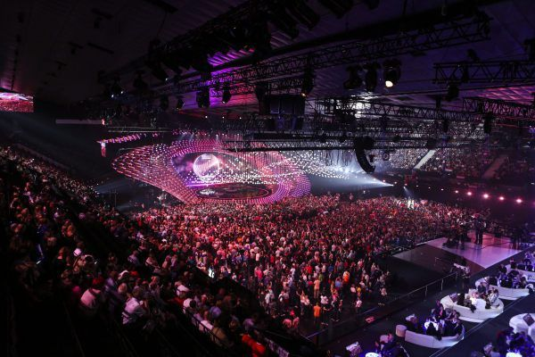 The stage of the 2015 Eurovision Song Contest