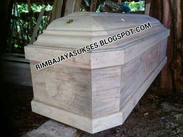 Peti jenazah dan siupan