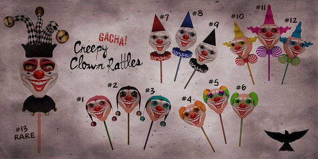 GACHA Lark - Horrorfest http://maps.secondlife.com/secondlife/Love%20Dolls%20Island/95/118/52