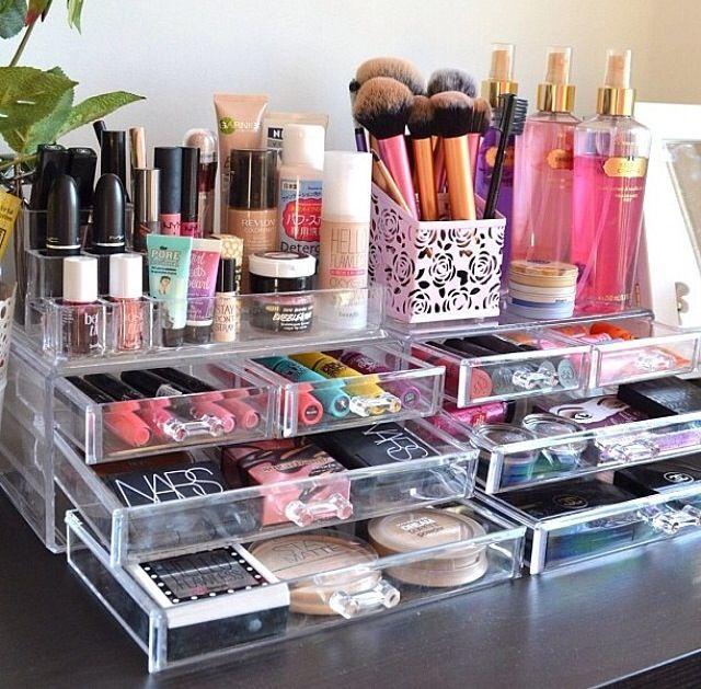 Organizadores de maquillaje