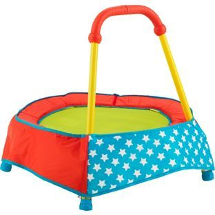Buy Chad Valley Toddler Trampoline Primary Brights at Argos.co.uk - Your Online Shop for Trampolines and enclosures, Activity toys.
