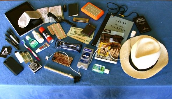 My Travel Essentials by Andrew Evans, Digital Nomad from National Geographic.