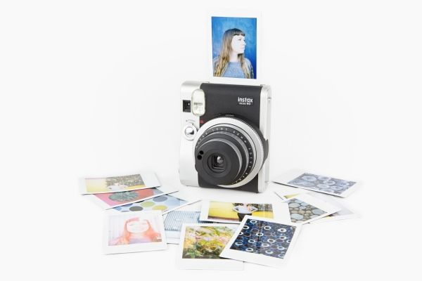 Instax 90 Neo Classic Instant Camera - The newest and tiniest Fuji Instax Cam with more control for the most creative instant pics. ($225.00, http://photojojo.com/store)