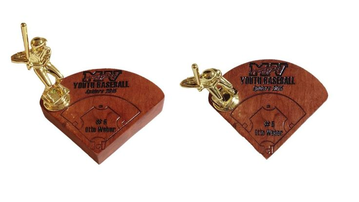 Baseball Trophies by Weberswoodcreation on Etsy