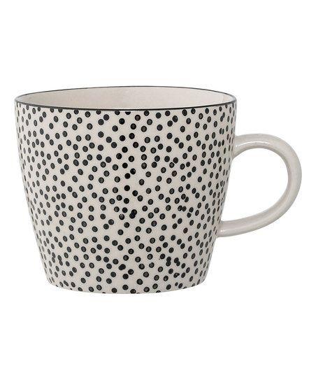 White & Black 3 Ceramic Julie Mug