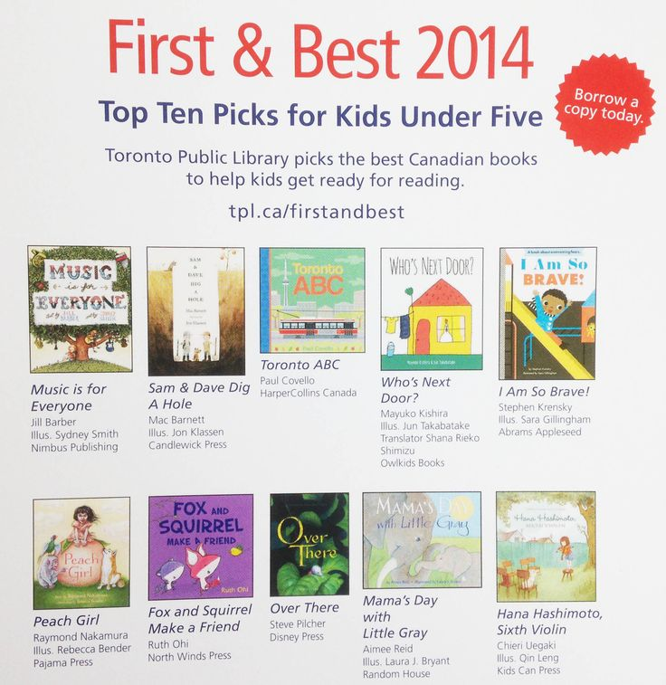 "FOX AND SQUIRREL MAKE A FRIEND is a Toronto Public Library ""First & Best"" Selection."
