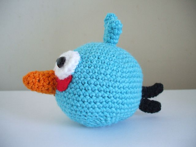 Blue Angry Bird Amigurumi Pattern : 171 best images about napady pre deti on Pinterest Sacks ...