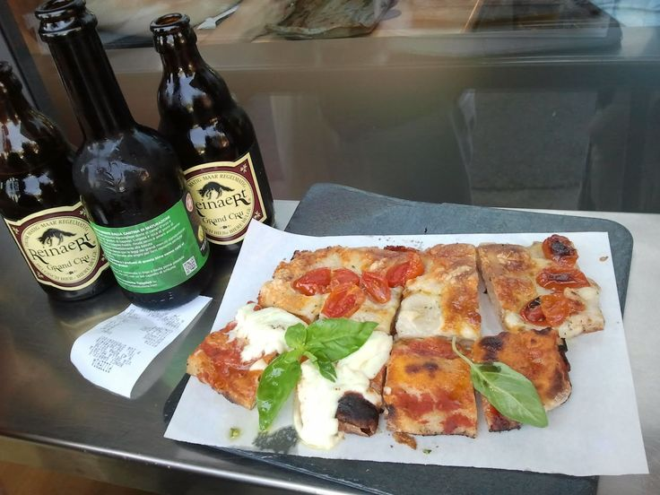 """Best pizza in Rome, by far. Pizzarium. Featured on """"The Layover"""" with Anthony Bourdain."""