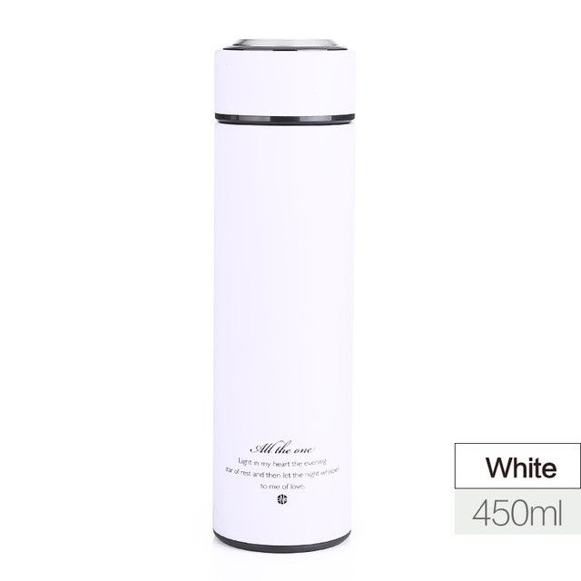 Christmas Thermos Cup Stainless Steel Thermo Mug With Tea Infuser Insulated Thermos Coffee Mugs Thermal Bottle Car Vacuum Flask
