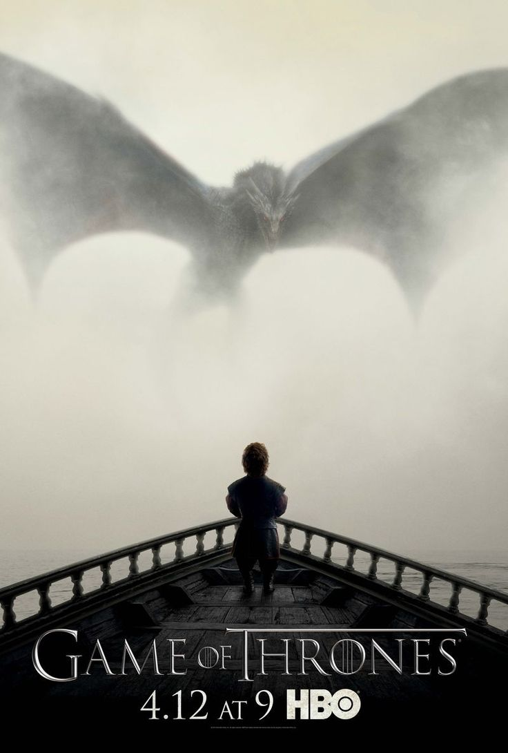 Game of Thrones poster of season 5 starting April 12th