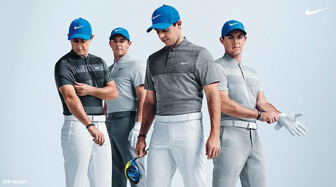 Rory McIlroy Masters Scripts - Nike Golf Outfits 2016