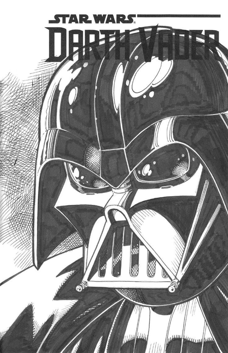 Alex Chung, marvel1980s:   Darth Vader by Art Adams